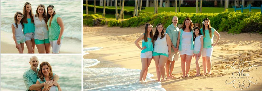 Maui Photographer with Family