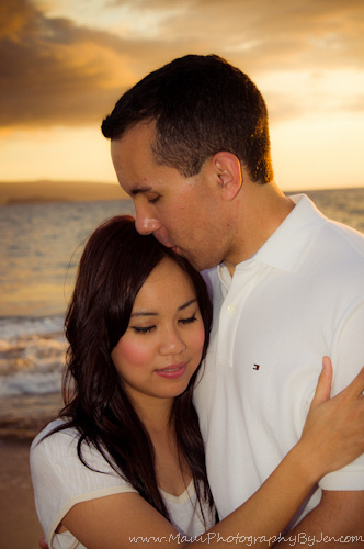 maui photography of couple