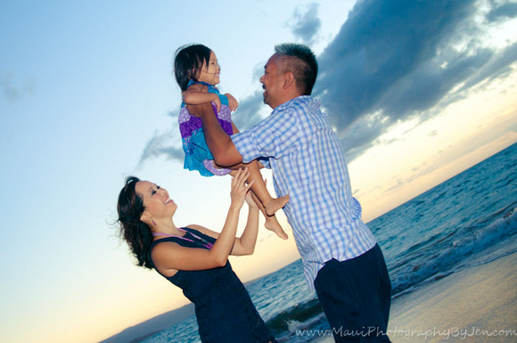 maui family portraits in wailea