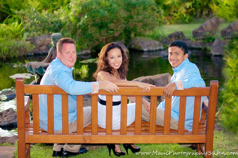 maui family photographers at the grand wailea