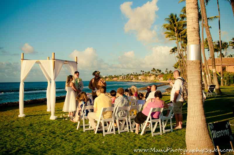 maui wedding by maui photographer jen
