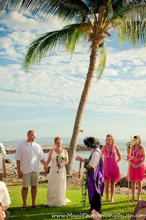 maui wedding at olowalu plantation by photographers