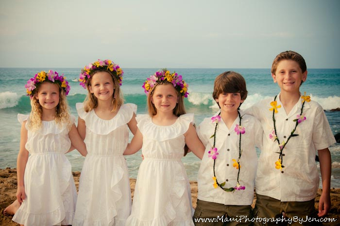 maui children photography on the beach
