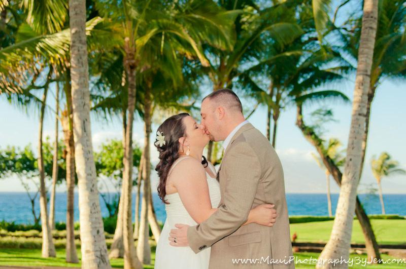 maui wedding photographer in makean