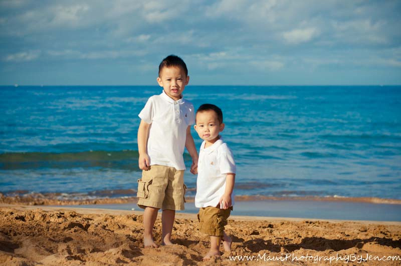 photography in maui of kids