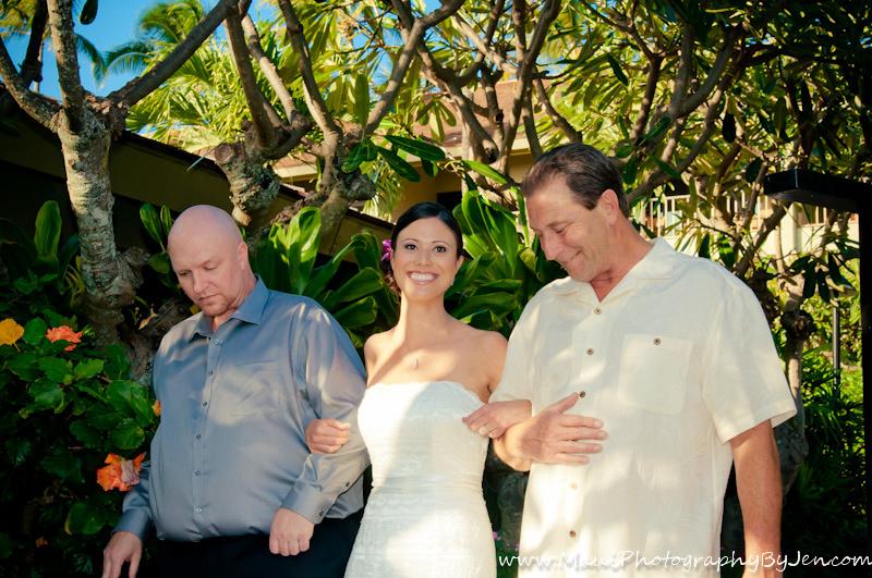 maui photographer napili wedding