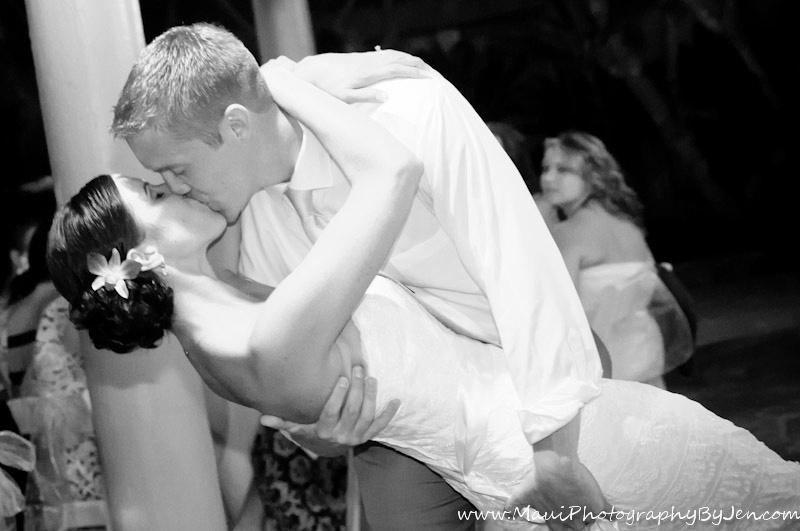maui photography wedding reception