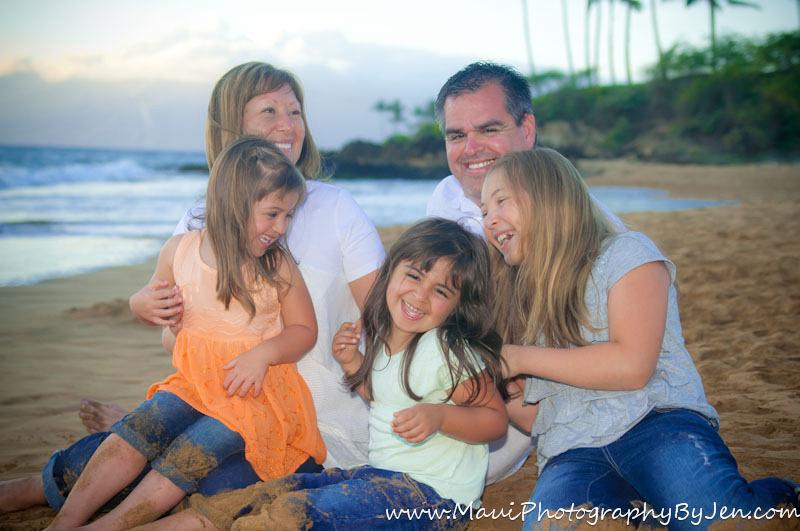 maui photography family at makena