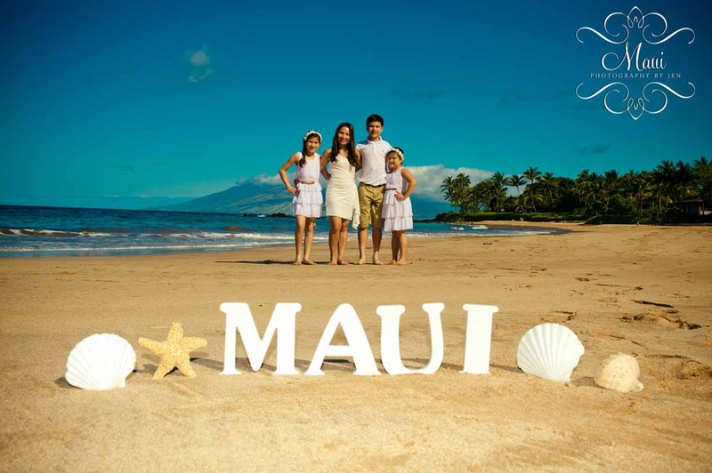 Photography in Maui at the Grand wailea resort with family