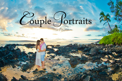 photography in maui with couple on honeymoon