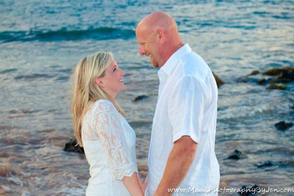 honeymoon portraits by maui photographer