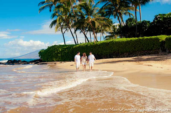 Photography in Maui at the beach