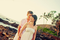 Maui Photographers with Honeymoon Couple