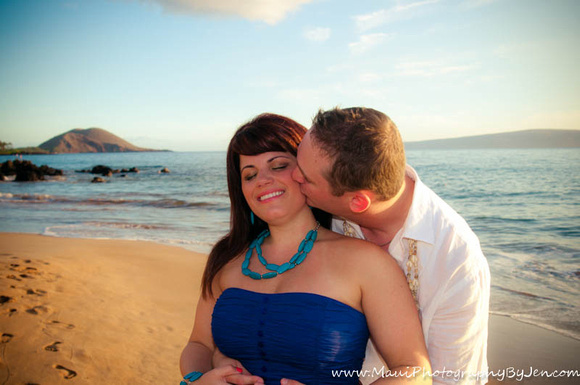 maui pictures of couple at sunset