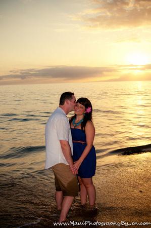 maui romantic on the beach