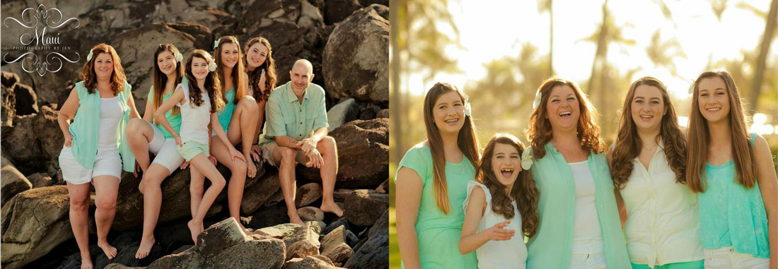 Maui Photography with Family in wailea
