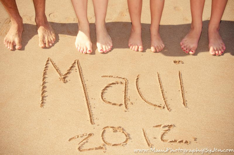 maui family vacation by photographer