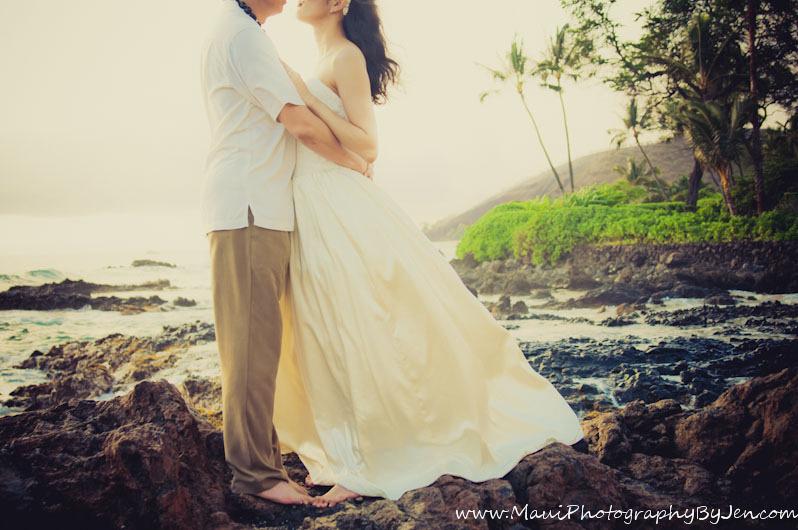 maui photography of wedding