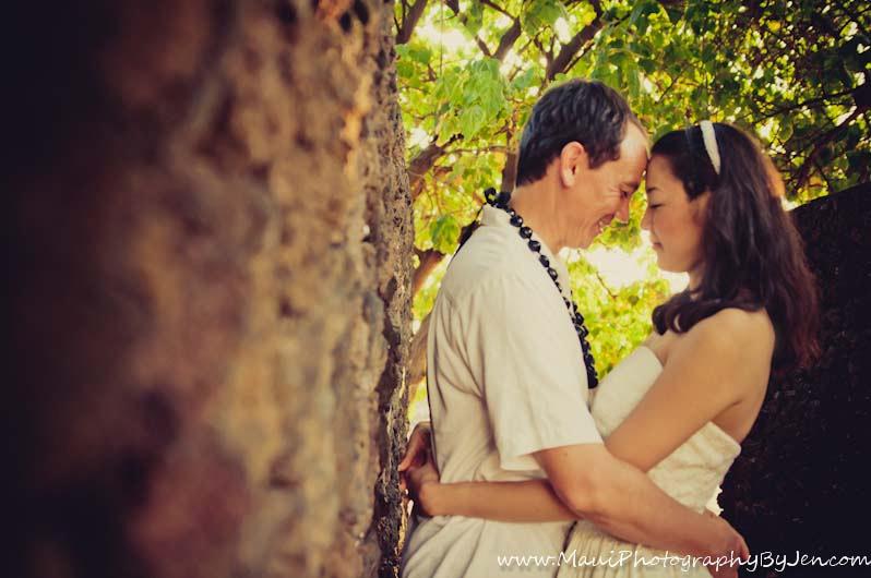 maui photography on honeymoon