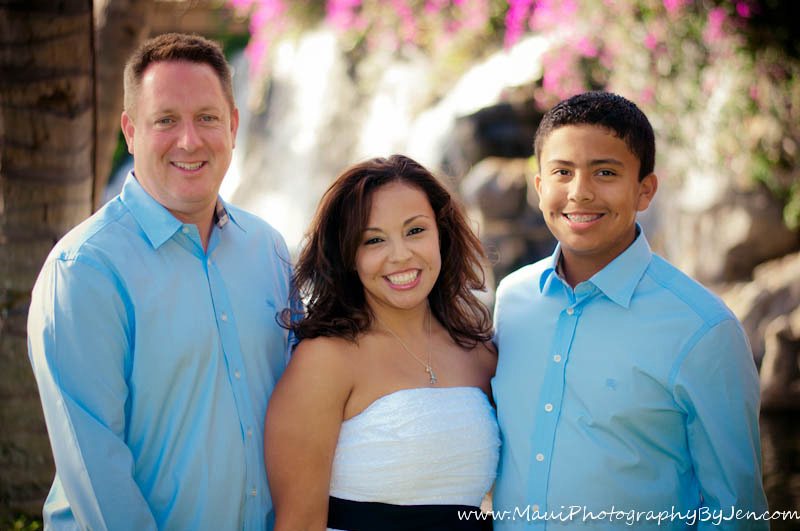 maui photographers at the grand wailea with family
