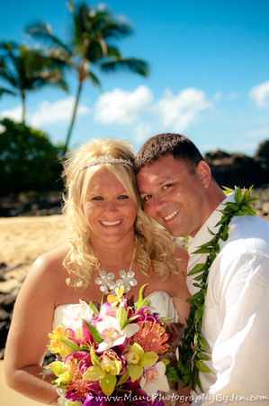 maui wedding photographers in makena