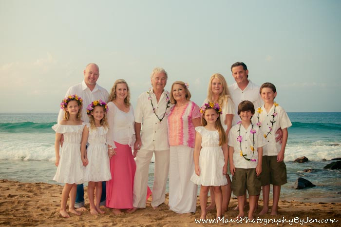 Maui Family Portraits in kihei