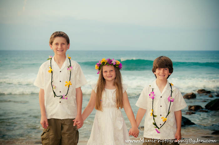 maui photos with kids portraits