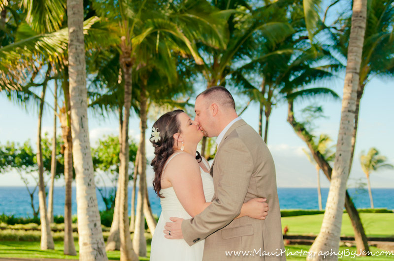 maui wedding photographer in makean