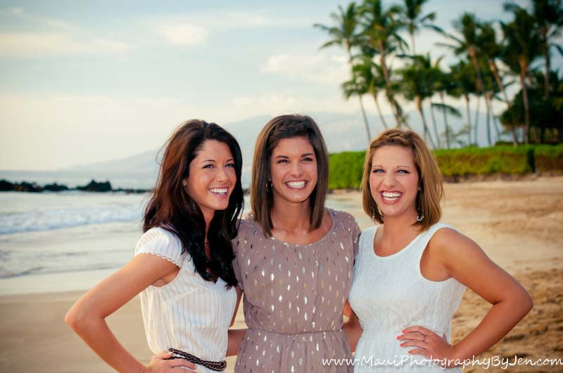 maui photography with beautiful women