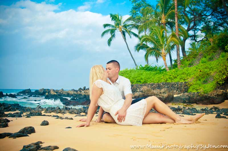 couple with maui photographers