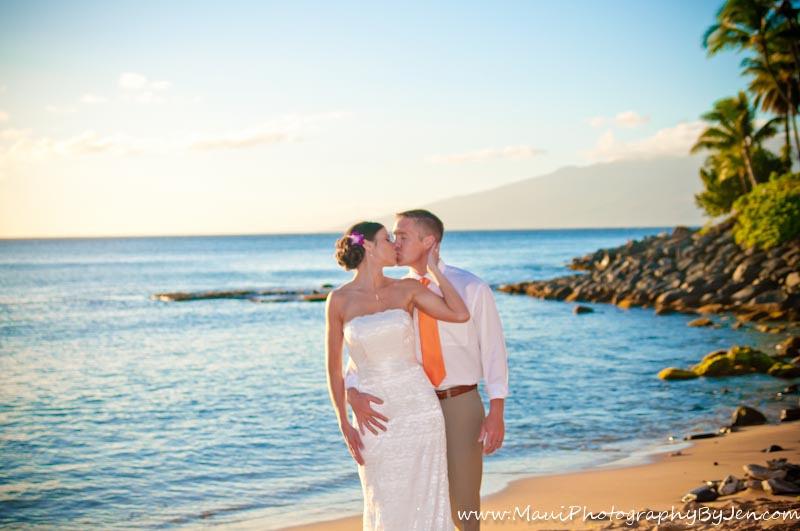 maui photographer wedding napili