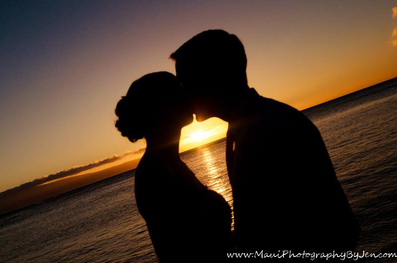 maui photographer beach wedding