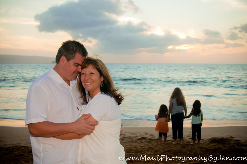 maui photographer with family