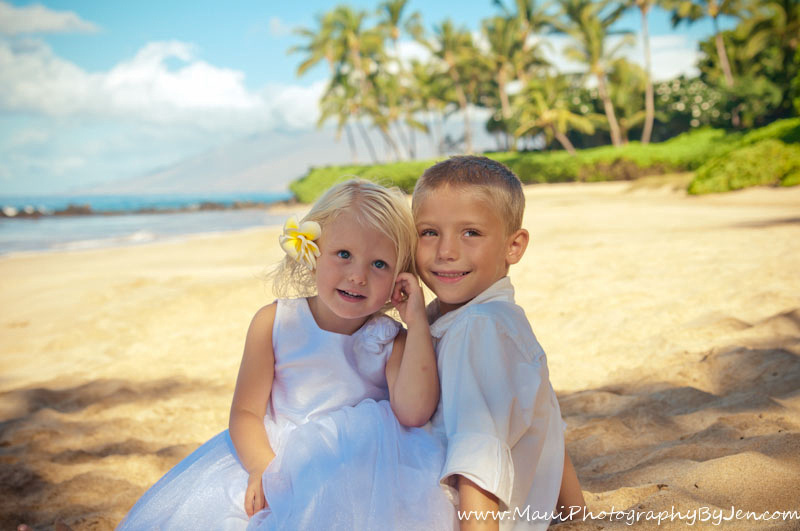 photography in maui with children