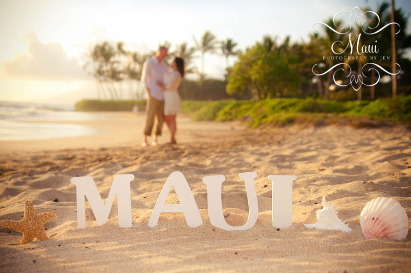 maui photographers of couple in love