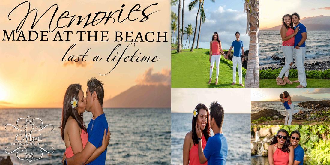 Maui Photographer and honeymoon couple