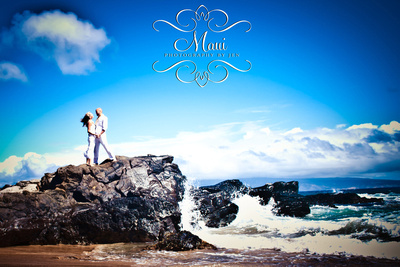 maui photography of wedding in lahaina