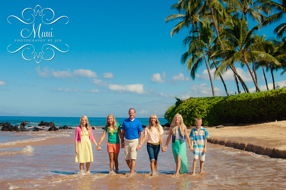family photographers in maui at the grand wailea