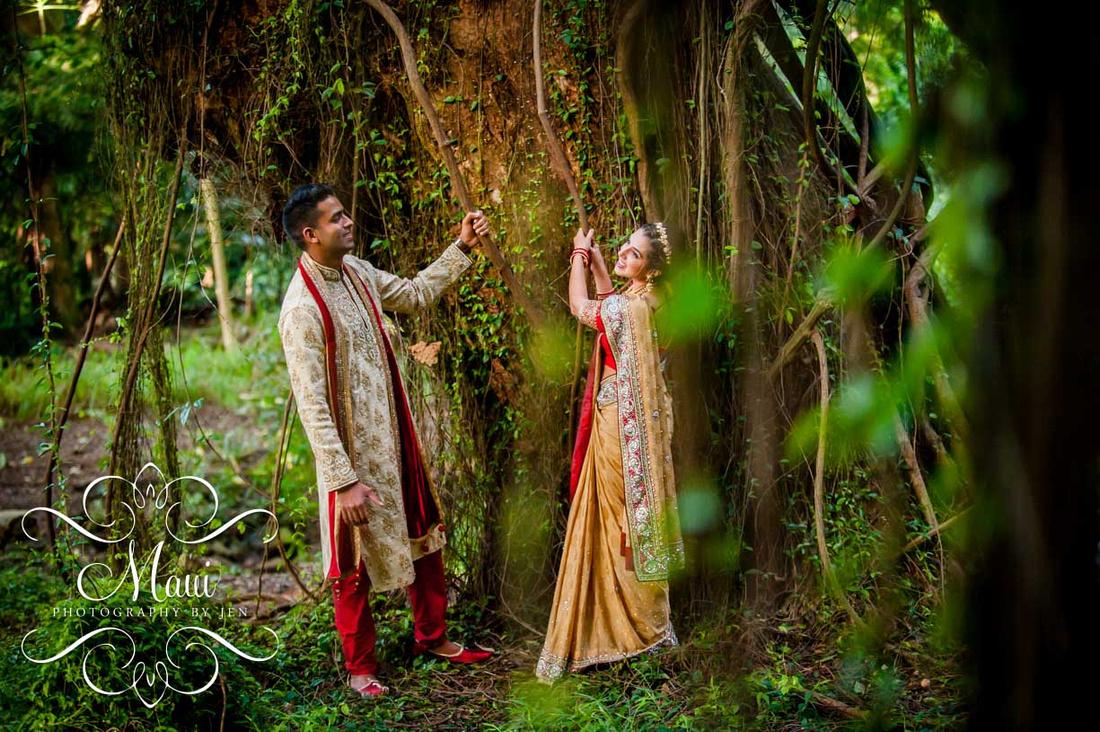 Maui Photographers Indian Wedding Couple