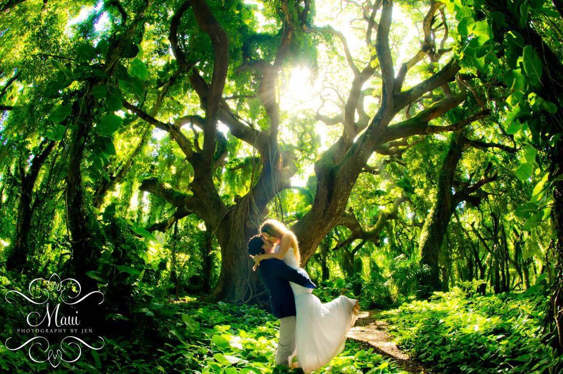 Maui Photographers Wedding Couple Best