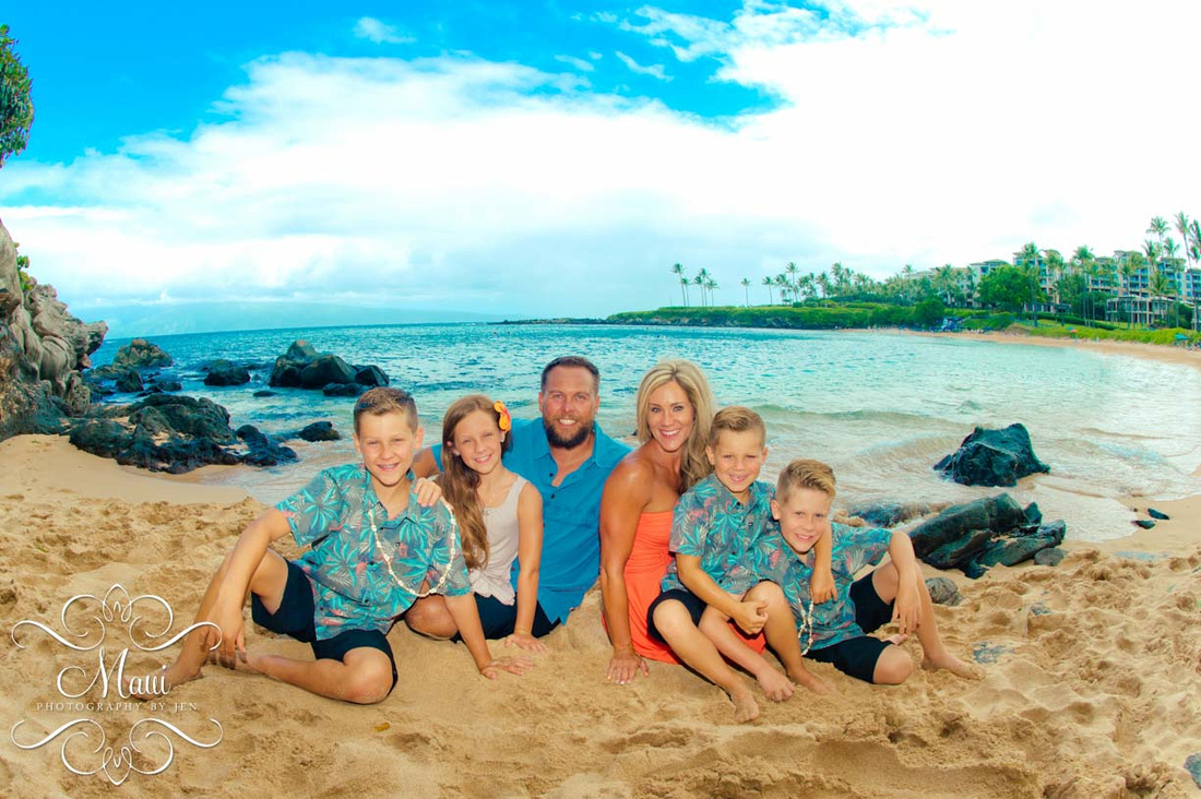 Photographers in Maui Captures Family