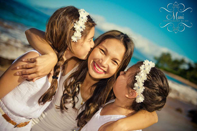 Maui photographers with family and kids