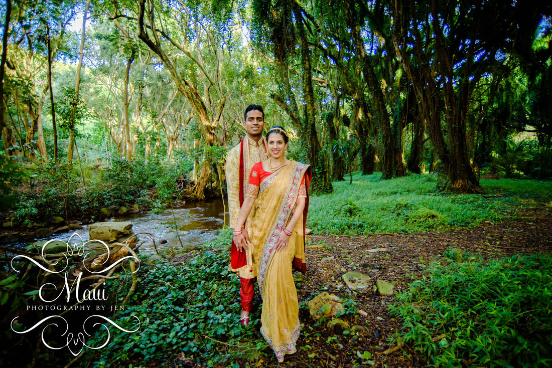 Maui Photography Indian Wedding Couple