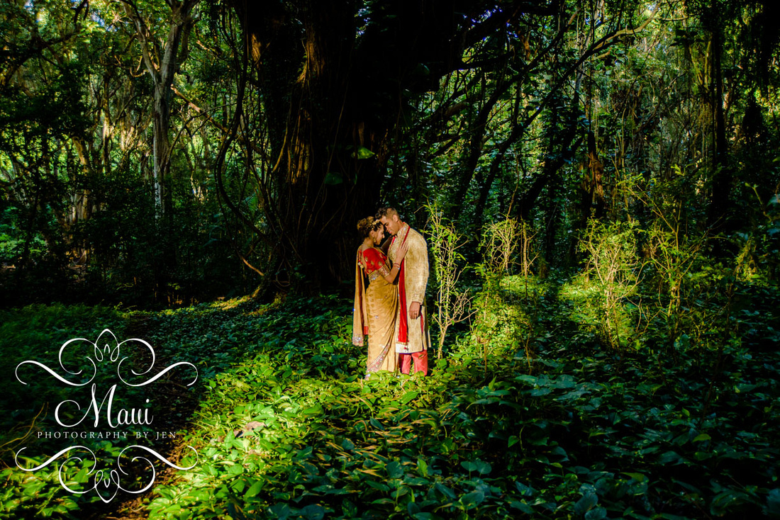 Maui Photographers Indian Wedding Couple