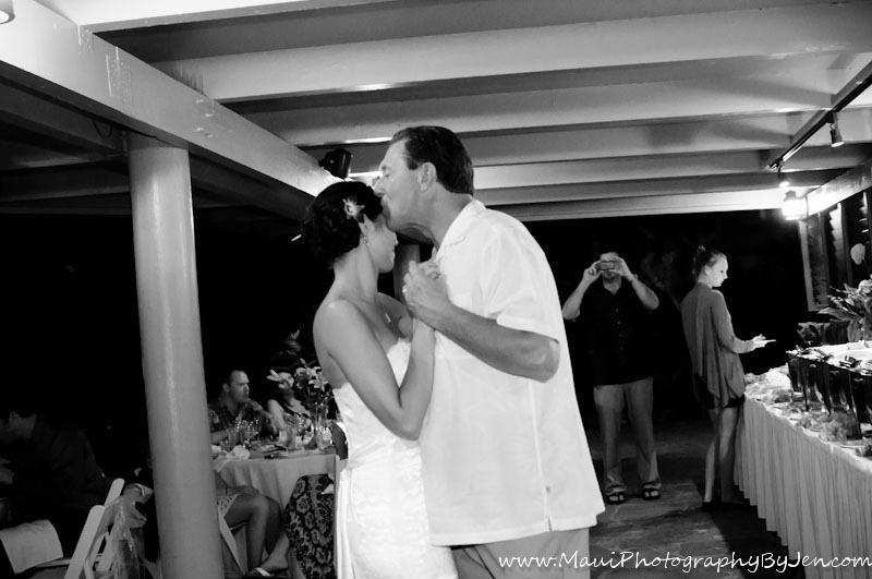 maui photographer wedding dancing